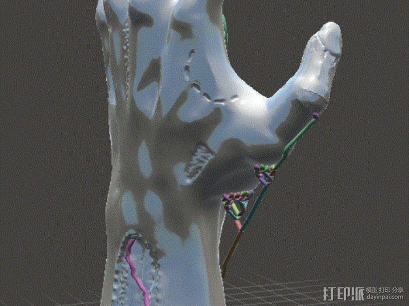 僵尸手 模型 3D模型  图8