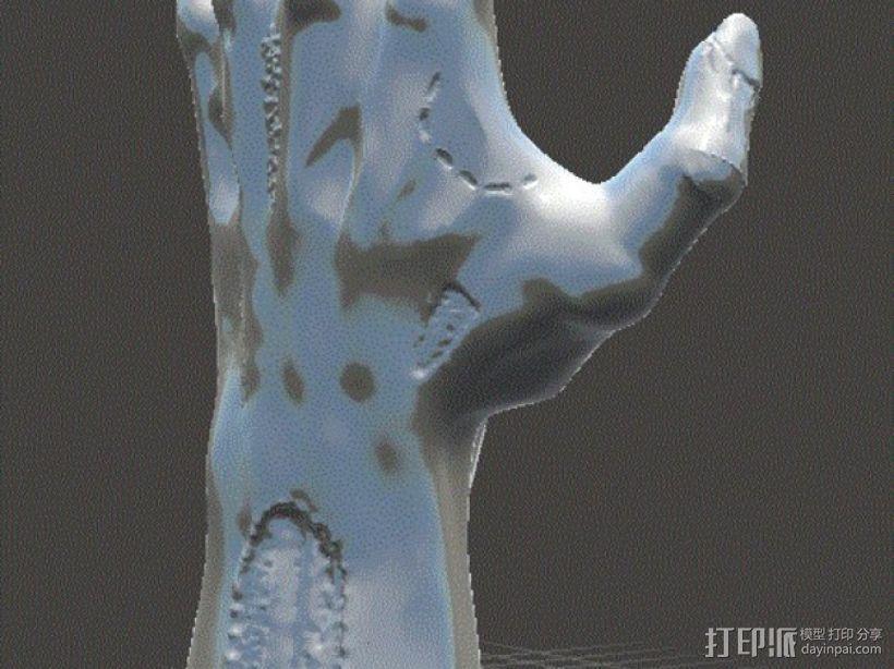 僵尸手 模型 3D模型  图11