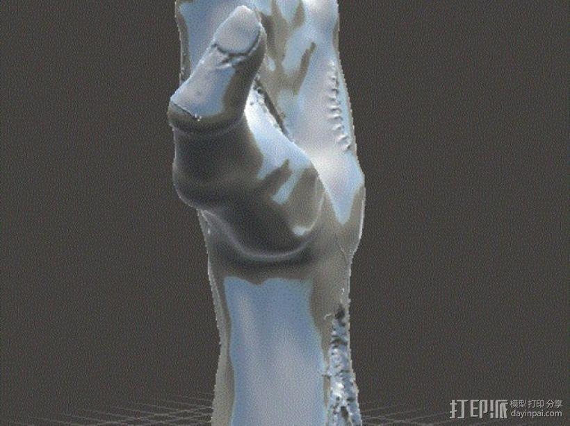 僵尸手 模型 3D模型  图13