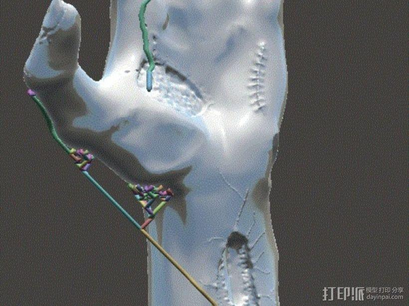 僵尸手 模型 3D模型  图15