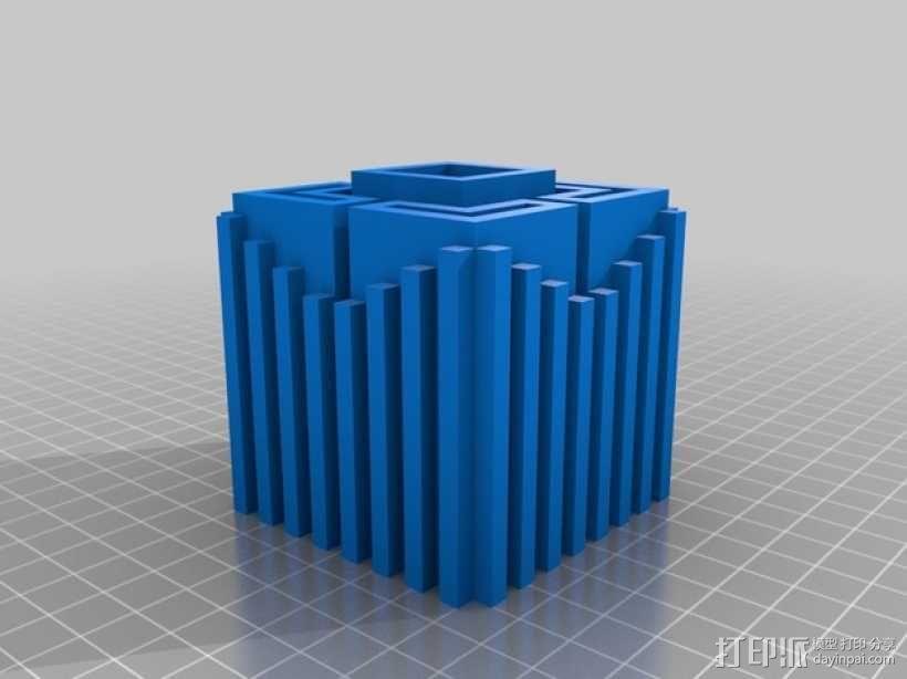 体素立方体 3D模型  图2