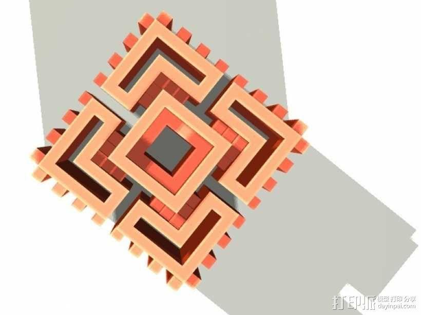 体素立方体 3D模型  图1