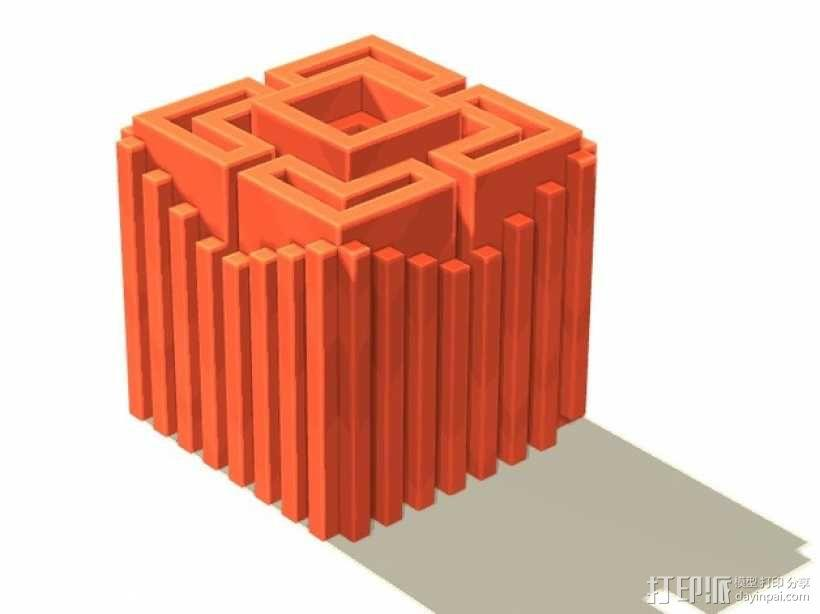 体素立方体 3D模型  图3