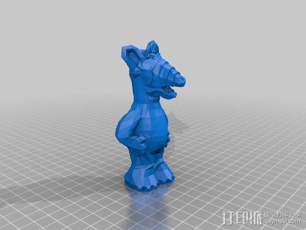 alf模型 3D模型  图2
