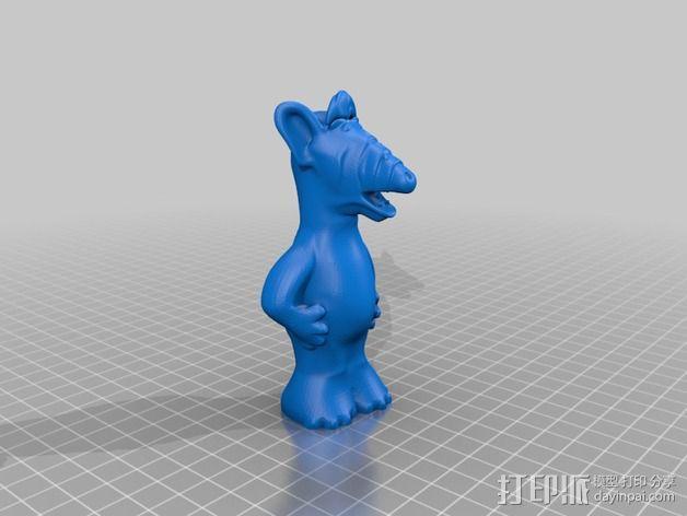 alf模型 3D模型  图3