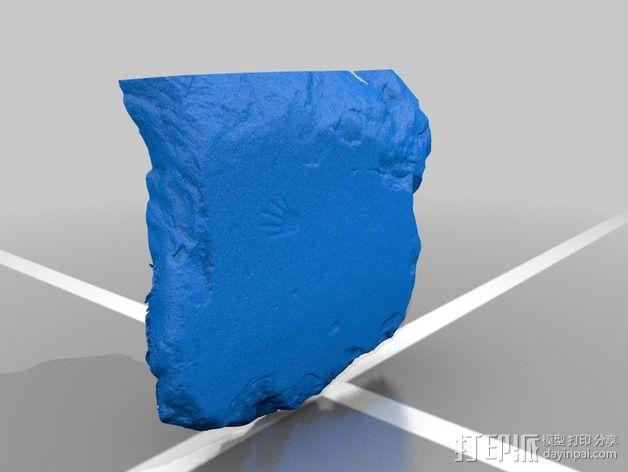 史前岩石模型 3D模型  图2