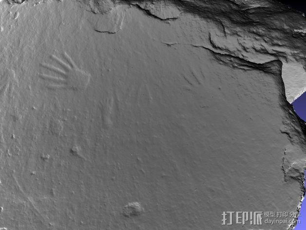 史前岩石模型 3D模型  图3