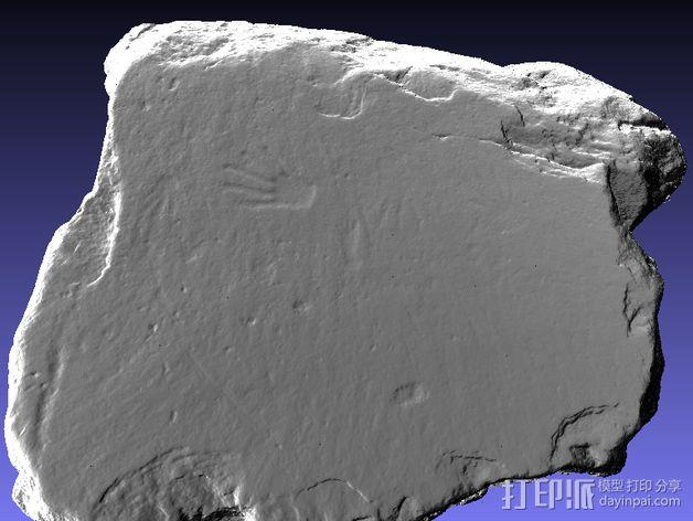 史前岩石模型 3D模型  图4