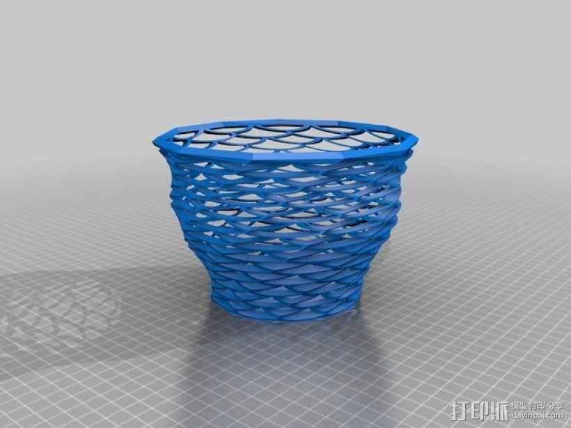 Funky花瓶 3D模型  图1