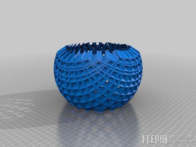 立体投影圈 3D模型  图2