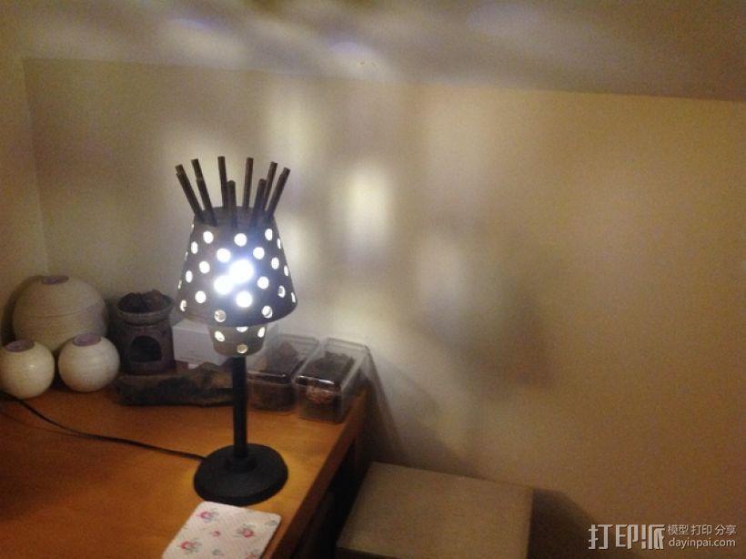 Manrique桌面小台灯 3D模型  图3