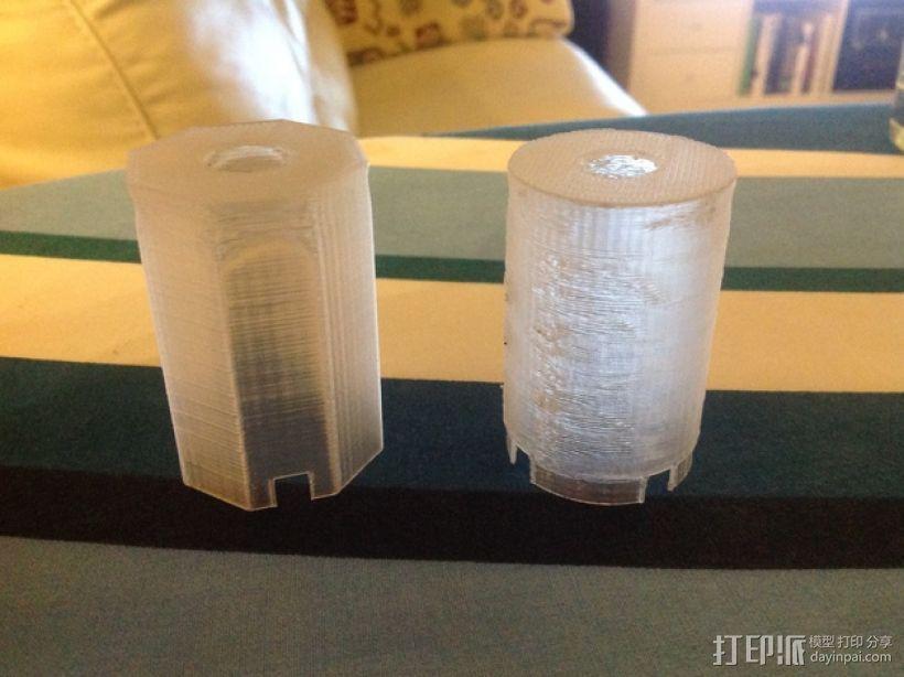 Manrique桌面小台灯 3D模型  图4