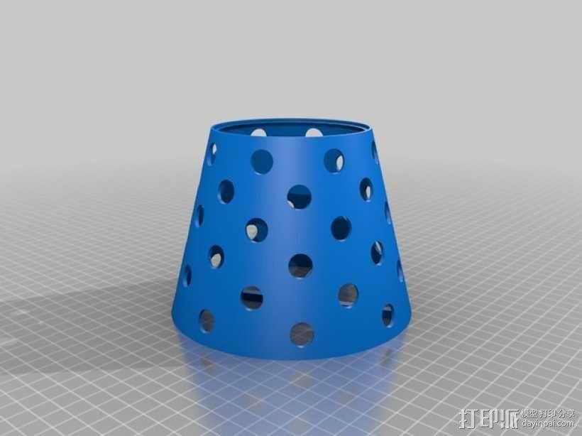 Manrique桌面小台灯 3D模型  图7