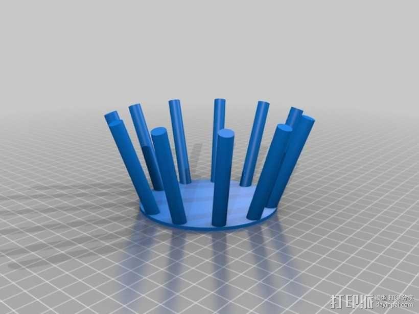 Manrique桌面小台灯 3D模型  图6