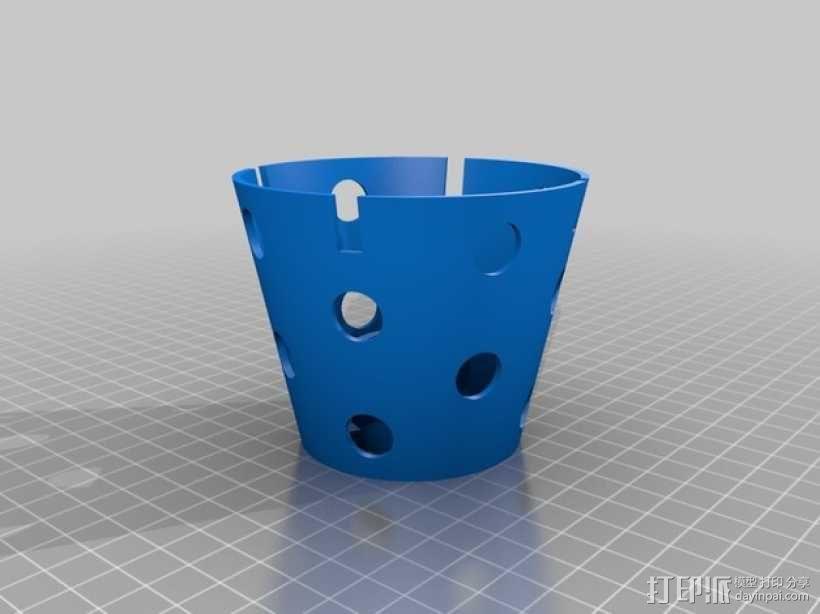 Manrique桌面小台灯 3D模型  图8