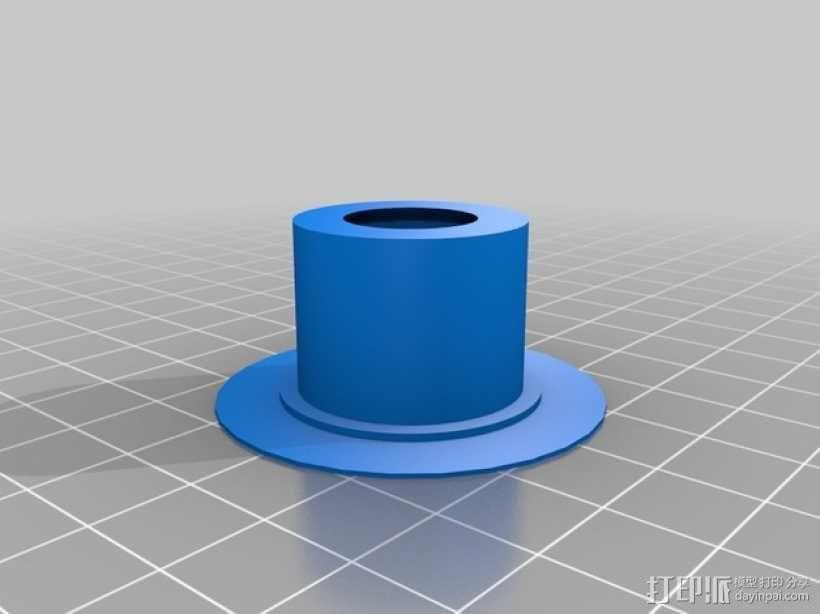 Manrique桌面小台灯 3D模型  图9