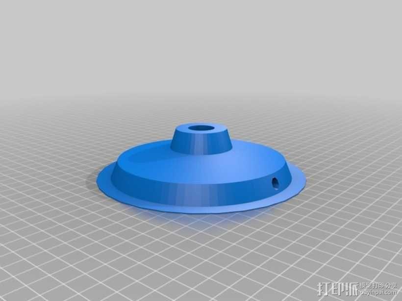 Manrique桌面小台灯 3D模型  图10
