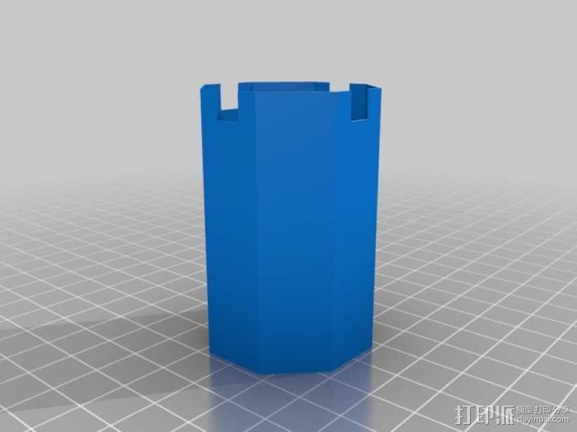 Manrique桌面小台灯 3D模型  图11