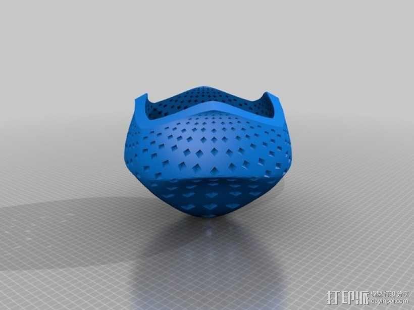 蘑菇型立体投影 3D模型  图2