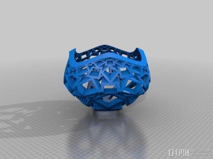 蘑菇型立体投影 3D模型  图6
