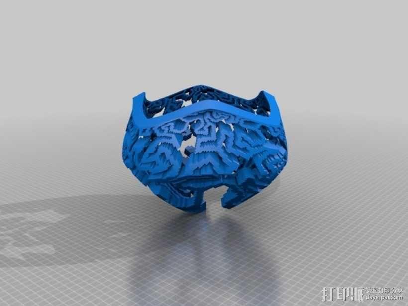 蘑菇型立体投影 3D模型  图8