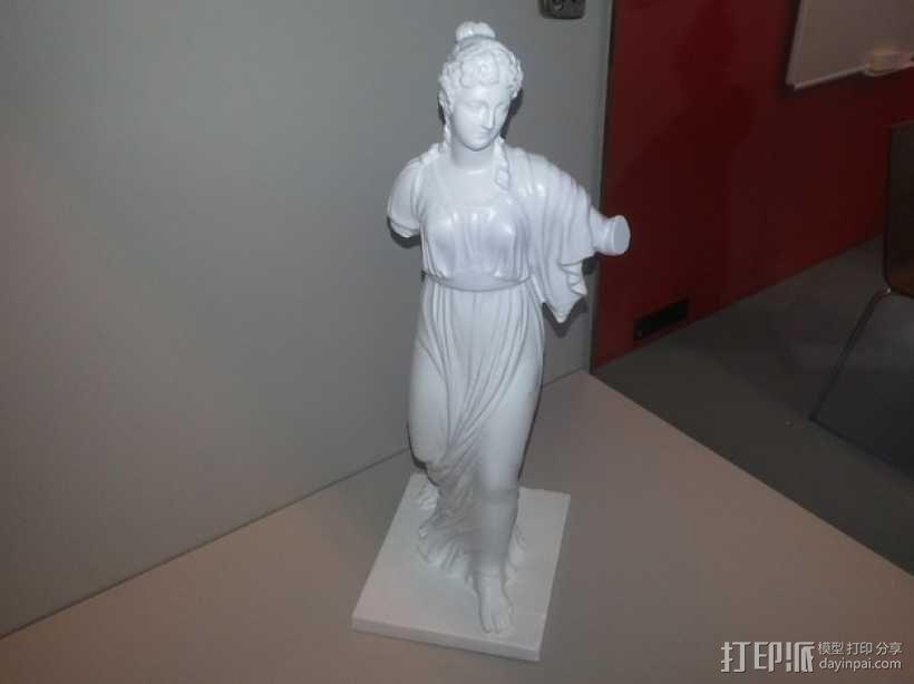 阿格里皮娜雕塑 3D模型  图4