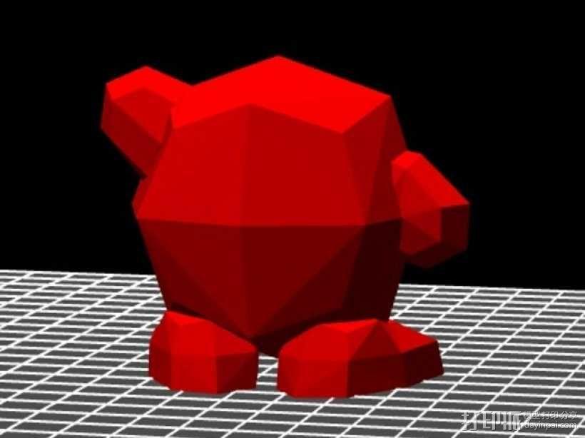 星之卡比模型 3D模型  图3
