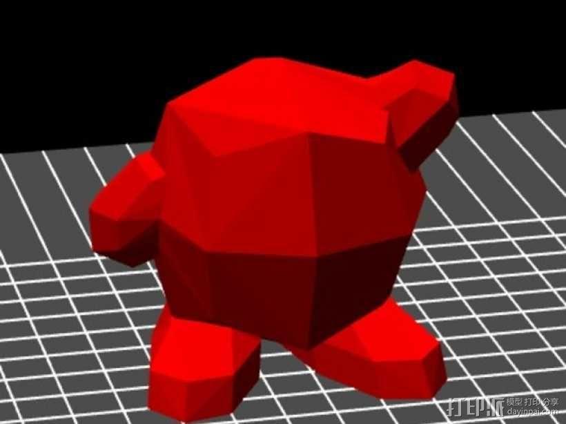 星之卡比模型 3D模型  图2