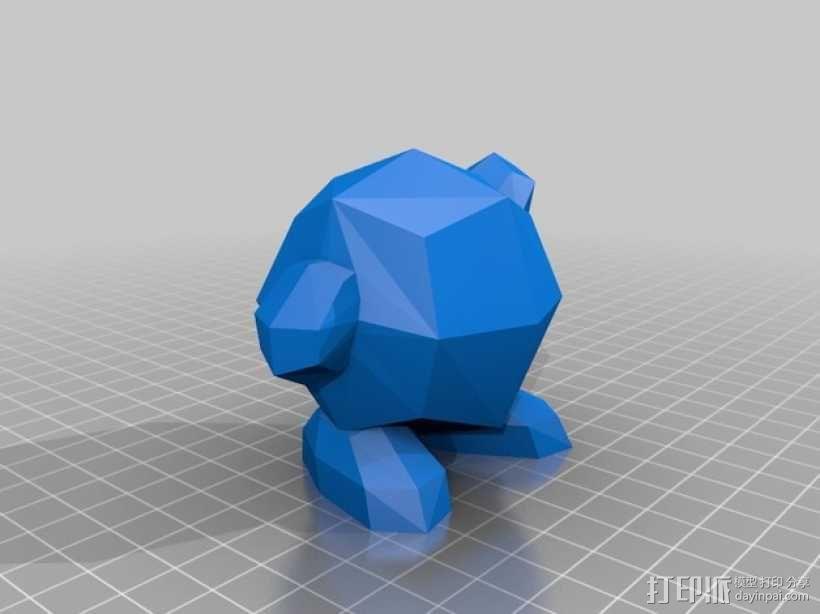 星之卡比模型 3D模型  图1