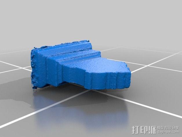 墓碑模型 3D模型  图2