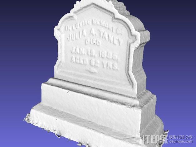 墓碑模型 3D模型  图3