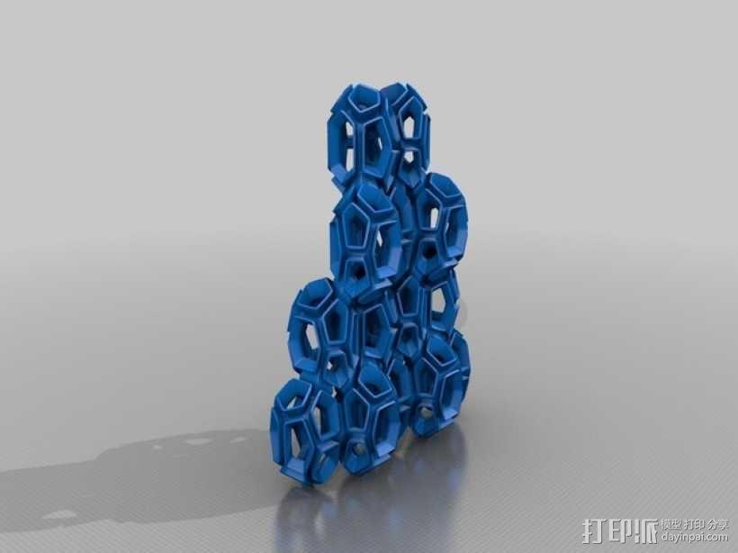 空心水晶 3D模型  图1