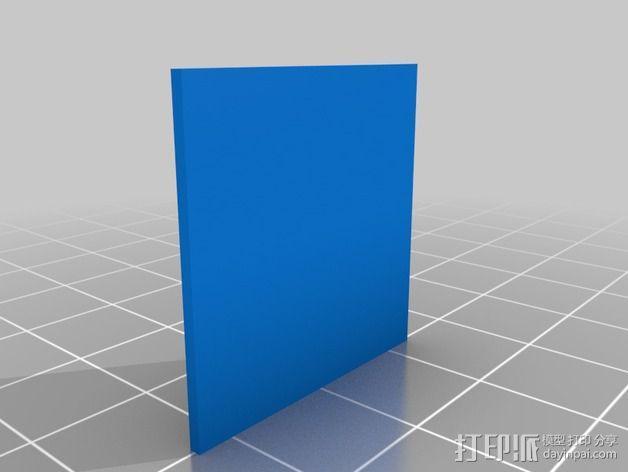 horus太阳神贴卡 3D模型  图2