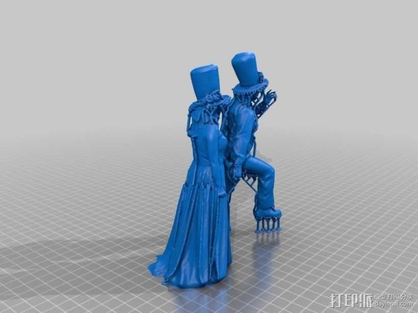 结婚 3D模型  图1