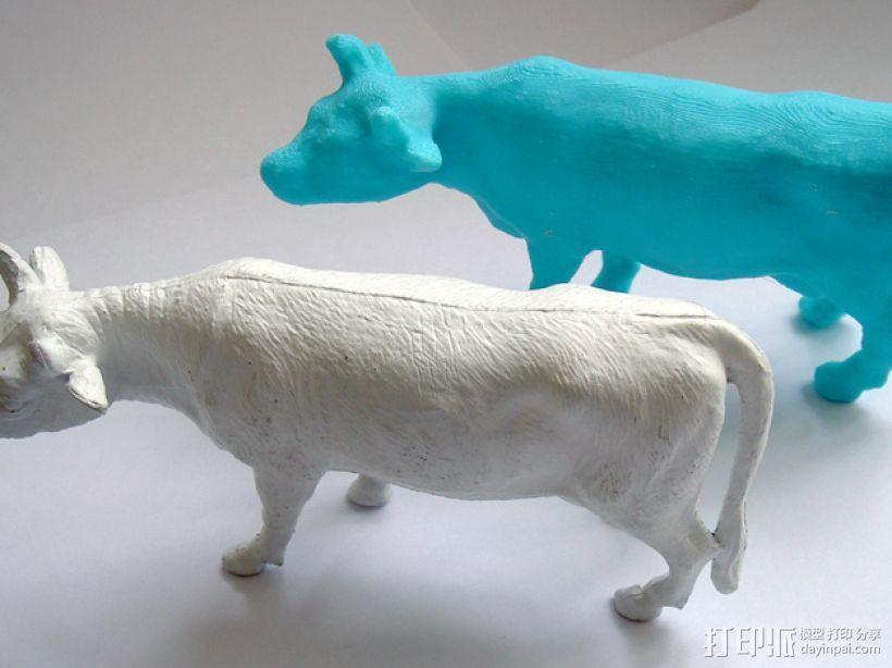 农场奶牛 3D模型  图7