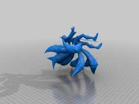 九尾狐阿狸模型 3D模型