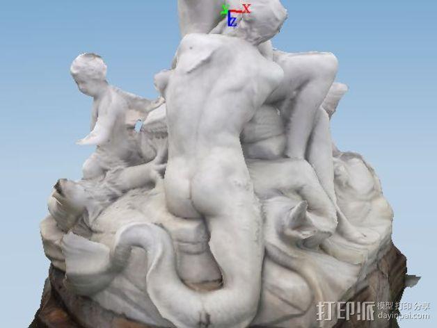 维也纳雕塑 3D模型  图3