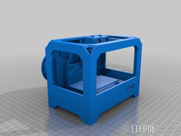 MakerBot Replicator打印机模型 3D模型  图2
