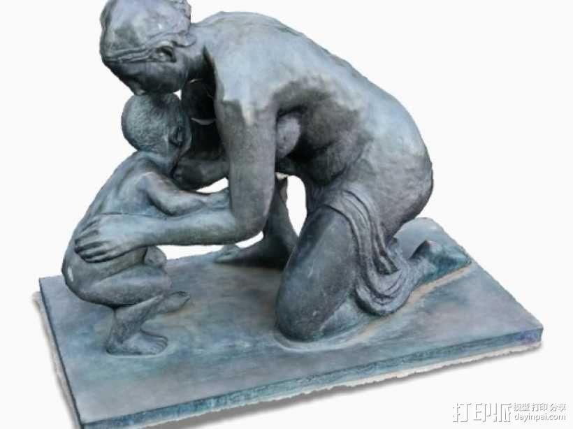 维也纳雕塑 3D模型  图1