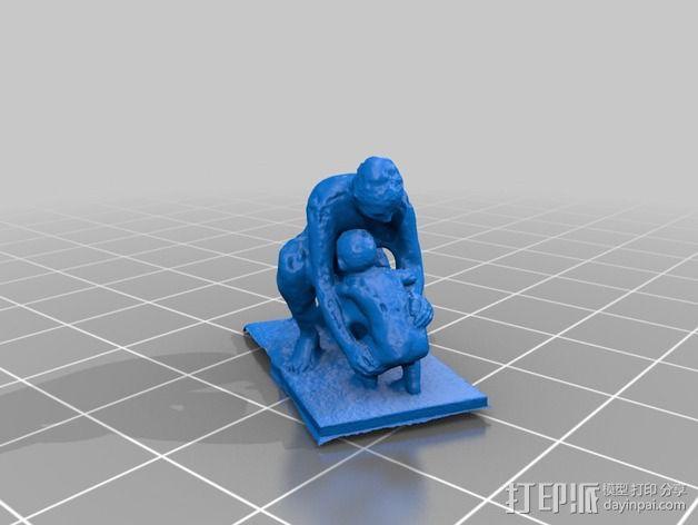 维也纳雕塑 3D模型  图2