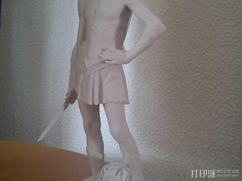 大卫雕塑 3D模型  图2