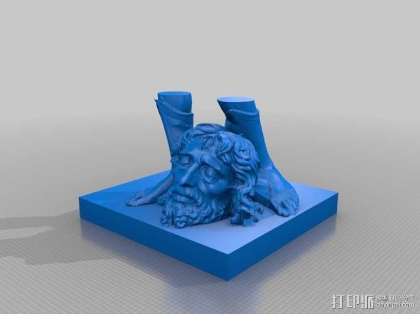 大卫雕塑 3D模型  图4
