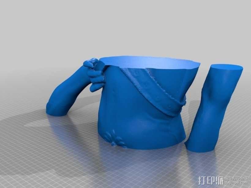 大卫雕塑 3D模型  图6