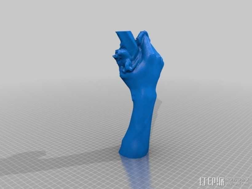 大卫雕塑 3D模型  图8