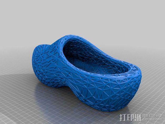 木屐  3D模型  图2