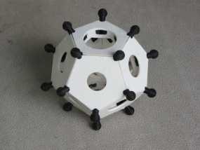 罗马十二面体 3D模型