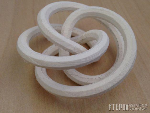 螺旋形花托  笔架 3D模型  图3
