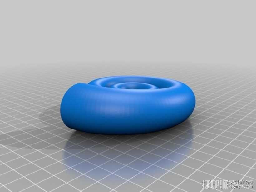 鹦鹉螺 3D模型  图2