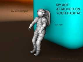 太空服模型 3D模型