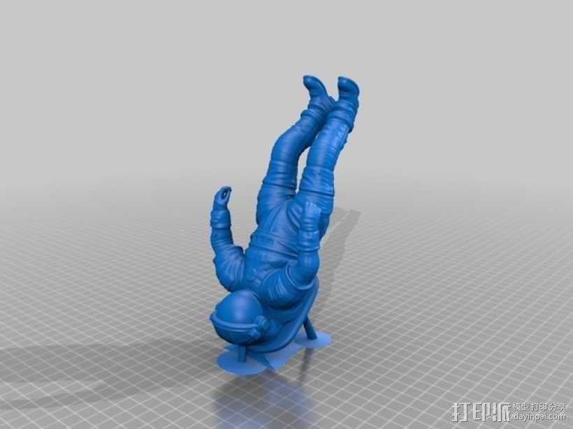 太空服模型 3D模型  图2